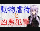 【3分解説】動物虐待と凶悪犯罪【犯罪心理学】