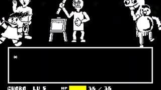 [Undertale(AU)]baldi battle NOHIT