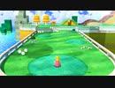 【1080p】スーパーマリオ3Dワールドのスーパーマリオメーカー2のシーンスキンのオリジナルのコース