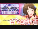 【デレステ】シンデレラガール総選挙上位MV詰【MV】