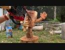 木端少年的チェンソーアート【メタトン】を彫る‼︎