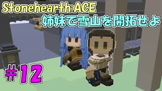 【Stonehearth:ACE】 姉妹で雪山を開拓せ