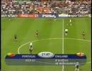 EURO 2000 ポルトガル vs イングランド