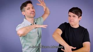 ジョジョの奇妙な冒険DU 英語吹替版 Billy Kametz and Zach Aguilar Talk Diamond is Unbreakable