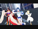 【Fate/MMD】requiem鯖でダダダダ天使【宇津見エリセモデル配布】
