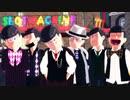 【MMDおそ松さん】 「7」 カジノ松【全松】