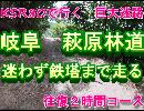 KSR80で行く 岐阜 萩原林道 鉄塔広場まで迷わず走る 往復二時間コース