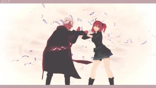 【Fate/MMD】ニア【ぐだ子・天草四郎】