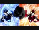 ウルトラマンR/B Ready to beat(左_Blue spring 右_Red closer)