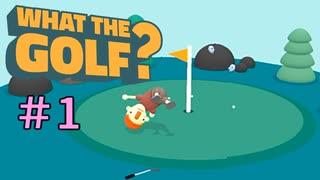 世界一バカゴルフ【WHAT THE GOLF?】#1