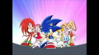 2003年04月06日 TVアニメ ソニックX ED2 「光る道」(中元すず香カバー)