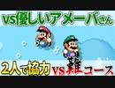 【マリオメーカー2】2P協力で激ムズコースを突破せよ #10 「雪景色」