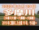 2020年6月20日「多摩川」台風19号から9ヶ月。そして今。