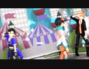 【MMD・羽矢蔵碧流&スタンザ・獣音ロウ】テスラは夢の中