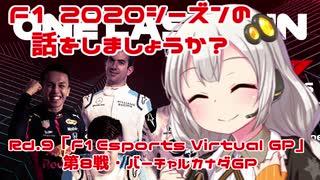 【紲星あかり】F1 2020シーズンの話をしましょうか?Rd9「F1 Esports Virtual Grand Prix 第8戦・バーチャルカナダGP」