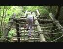 【生駒山麓公園】フィールドアスレチック 12番:アカンドウの門から山登りに挑戦するあい❤これは簡単www