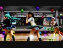 【MMD】虎視眈々 魂魄妖夢・東風谷早苗・十六夜咲夜 JKスタイル【ぱんつ注意】