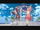 【MMD】楠栞桜と柾花音できょうもハレバレ【しおかの】