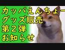 【朗報】カッパえんちょーグッズ販売第2弾のお知らせ2020/07/01-11