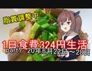 【キリキズ】1日食費324円生活 PART7【貧乏飯】