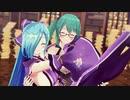 【アイドル部MMD】神楽すずとヤマトイオリで ダンスダンスデカダンス