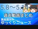 【真相深入りゆっくりニュース】5/8から5/14までまとめ