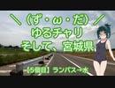【アシスト車載】\(ず・ω・だ)/ゆるチャリそして、宮城県 5個目 ランパス→水