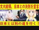 【韓国の反応】日本とは別の道を行く!文大統領、日本との決別を宣言【世界の〇〇にゅーす】