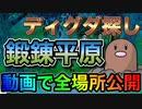 【ポケモン剣盾】動画で解説!絶対迷わない ディグダの場所まとめ 鍛錬平原編