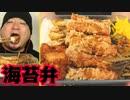 ASMR/咀嚼音/手作り海苔弁当を食べる音/白身フライ/唐揚げ/揚げ物/音フェチ
