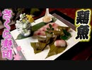 【握ってみた】寿司職人が作る桜餅ならぬ「イサキの桜寿司」の作り方!