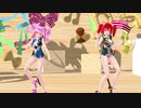 【重音テト 小春音アミ】drop_pop_candy【MMD】