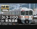 【JR東海】313系1100番台 in 東海道線  〜Collection Vol.01〜