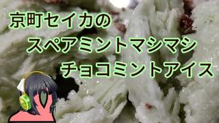 京町セイカのスペアミントマシマシチョコミントアイス