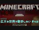 【実況プレイ】広大な世界で散歩しない【Minecraft】【第六回...