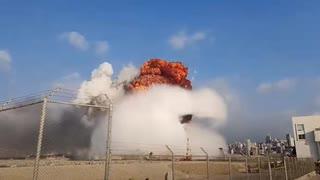 2020年8月 レバノン・ベイルート 大爆発の