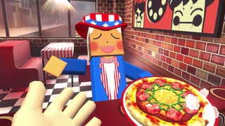 『VRピザ屋』で、美味しさの秘訣はウルトラ超火力!!!