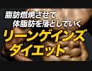【プチ断食】リーンゲインズ ダイエットの特徴を解説【ビーレジェンド プロテイン】