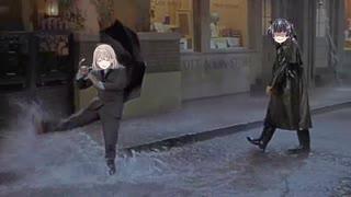 あさひ in the Rain