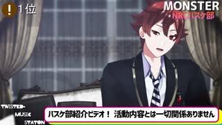 【MMDツイステ】音楽番組ランキング風に動