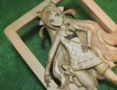 【まな板に】ピンキーポップヘップバーンを焦がしてみた【彫刻しつつ】