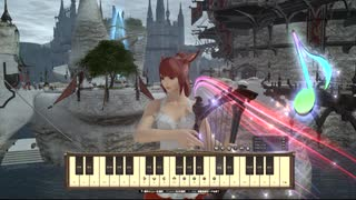 FF14 楽器演奏(FF5 親愛なる友へ)