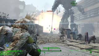 #43-2/4 Fallout4 MOD Project Valkyrie リバティプライムの共産主義殲滅作戦?(再)
