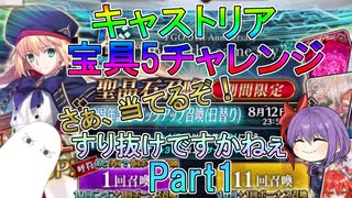 【FGO】キャストリア宝具5チャレンジ Par
