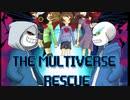 Frans Part 1【 The Multiverse Rescue - Undertale Comic Du...