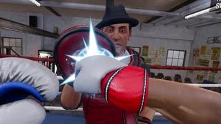 『VRボクシング』で初めてミット打ちをしたオレの雄姿みて。