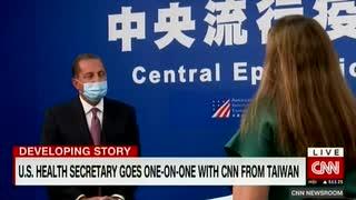 台湾が次の香港になる...台湾閣僚が米国の