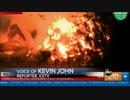 カリフォルニア州で高温と落雷により数百か所で山火事...数千人に避難命令