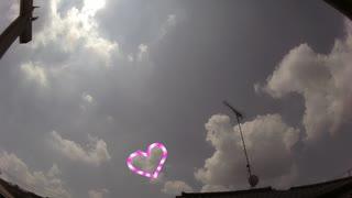 【空・雲】2020/8/22 8時~18時【タイムラ