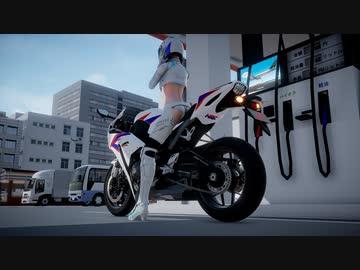 『【MMD】サイバーサンダーサイダー/EZFG × じゃあにぃ × レーシングミク2014 EV MIRAI ver.』のサムネイル